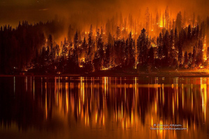 Courtney-Fire-reflected-in-Bass-Lake-Darvin-Atkeson-sm