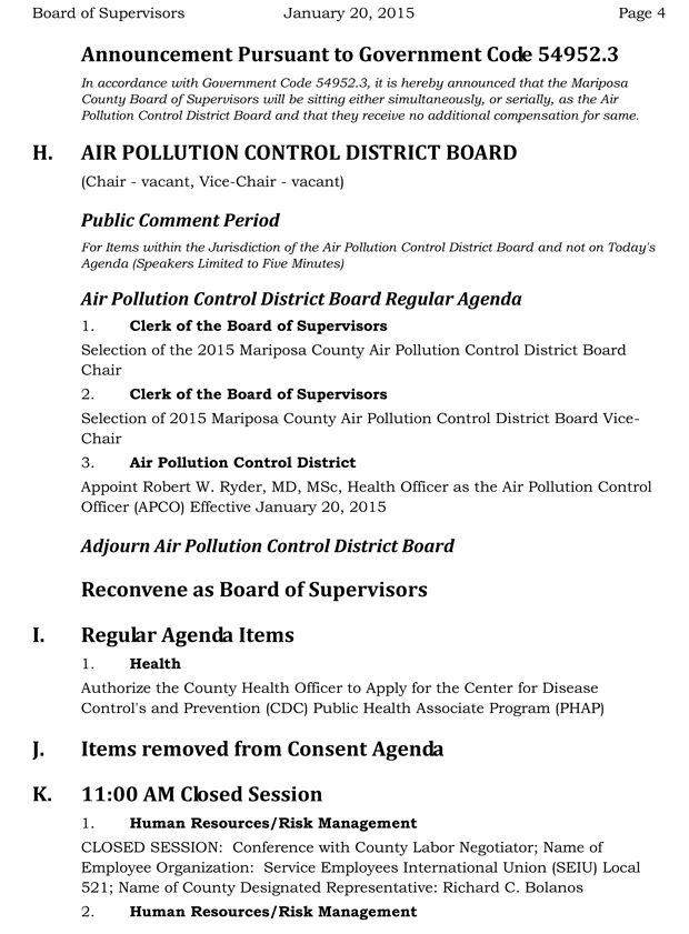 pollution control officer appointment letter