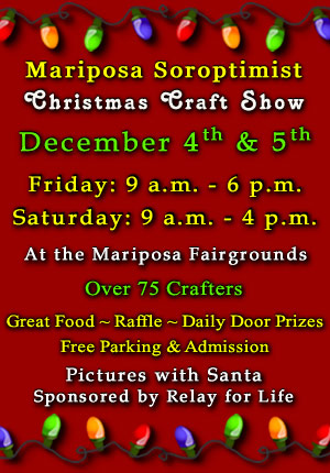 2015 Soroptimist Christmas Craft Show