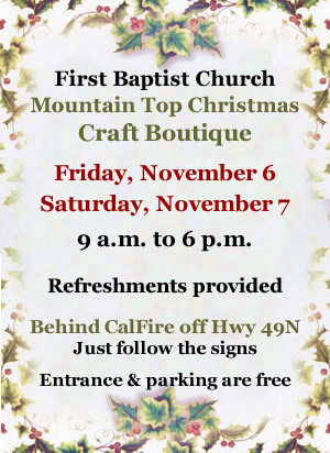 First Baptist Church Christmas Boutique