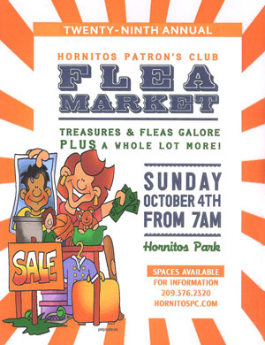 Hornitos Flea Market AD