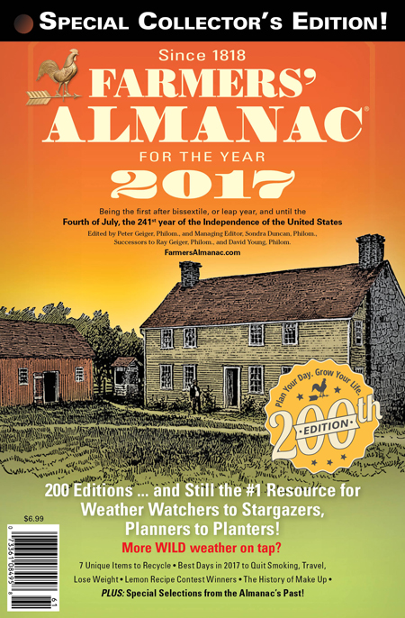 Farmers' Almanac™ Releases National Winter 2017 Winter Prediction