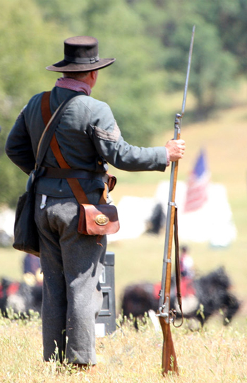 Las Mariposas Civil War Days by Linda Gast