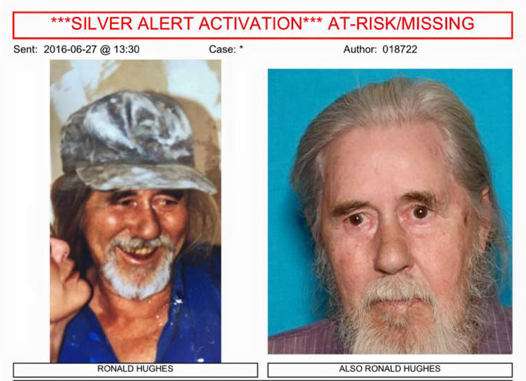mariposa missing man ronald hughes