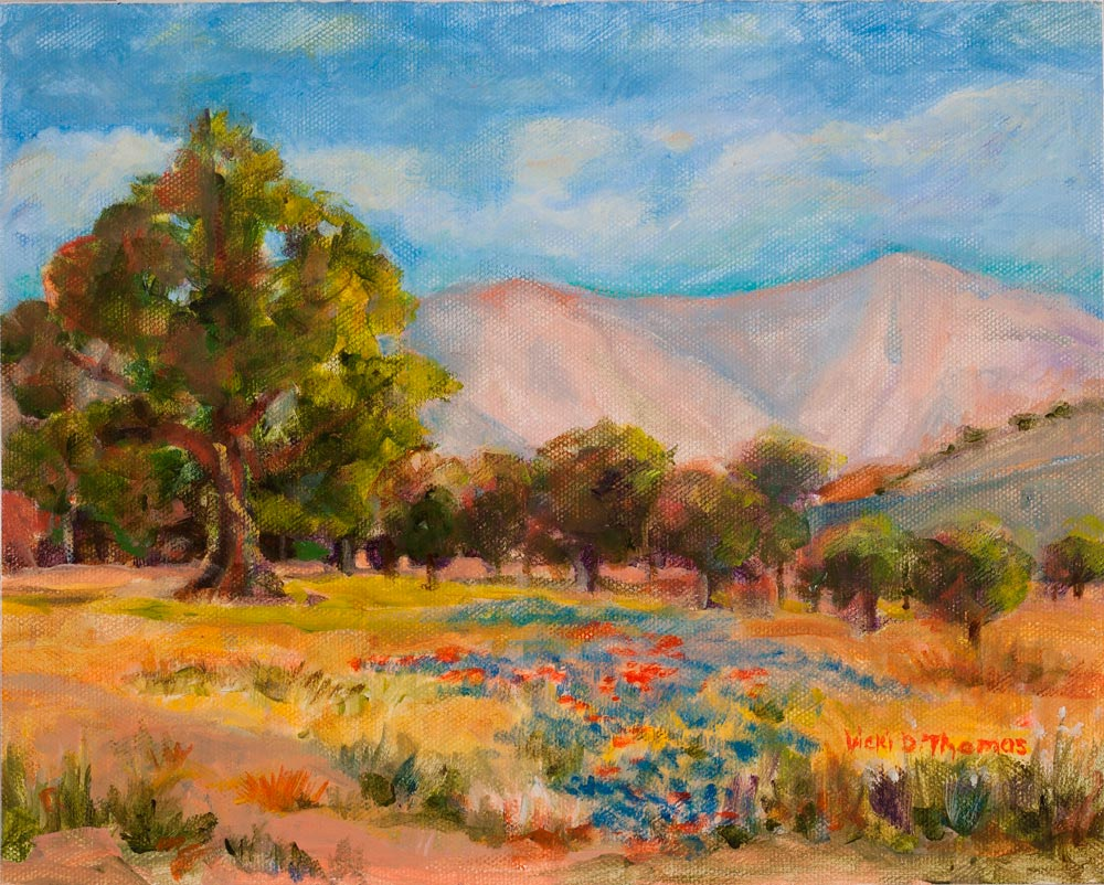 Sierra Art Trails Vicki Thomas Heliger