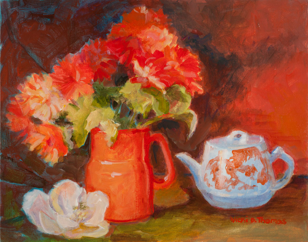 Sierra Art Trails Vicki Thomas Teapot
