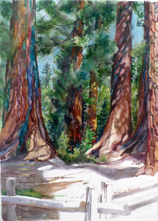 Sierra Art Trails Vicki Thomas Tree Skin
