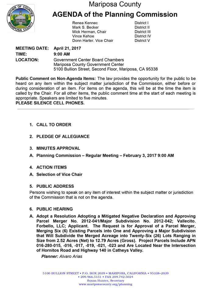 2017 04 21 mariposa county planning commission agenda april 21 2017 1