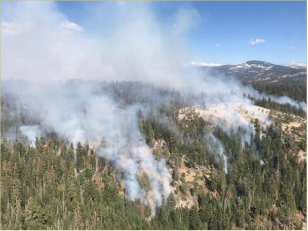 Yosemite's Wawona community to remain evacuated for days due to fire