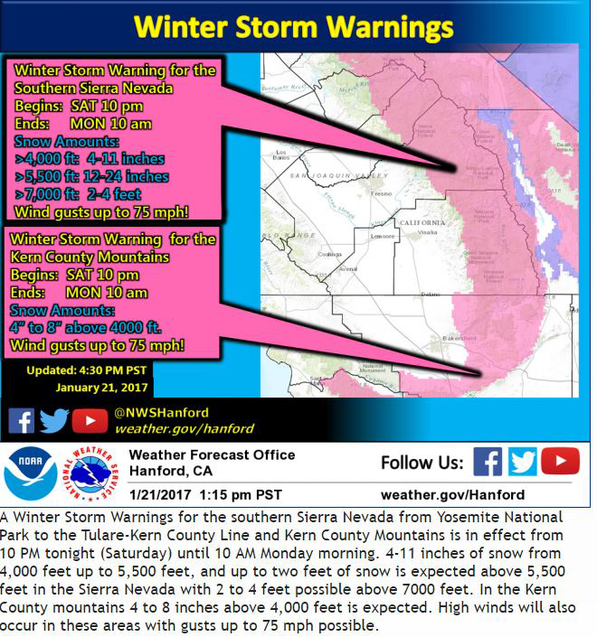 news weather service issues storm warning