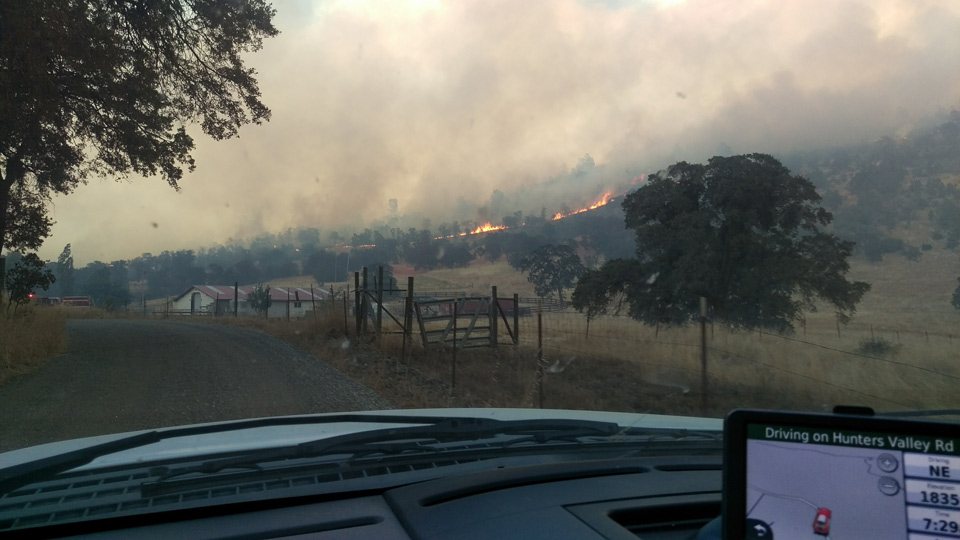 detwiler fire mariposa county sunday afternoon 7 credit mariposa county fire