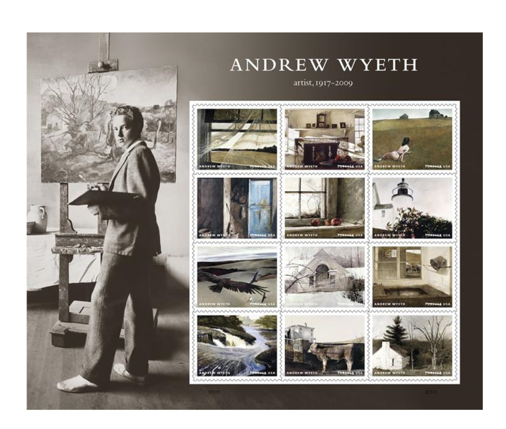 forever stamps andrew wyeth