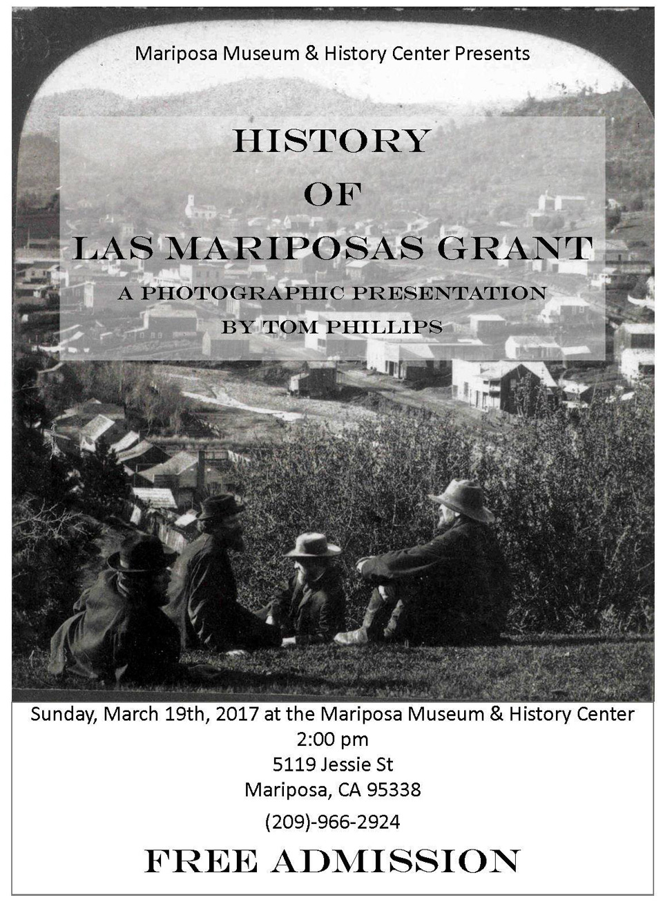 mariposa museum and history center history of the las mariposas grant tom phillips