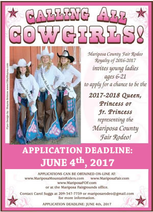 Calling All Cowgirls Rodeo Queen Ad