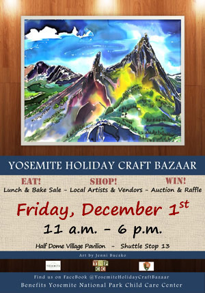 12 1 17 Yosemite Holiday Craft Bazaar ad