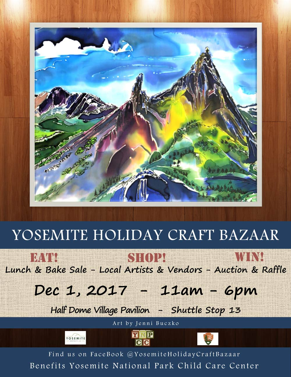 12 1 17 Yosemite Holiday Craft Bazaar