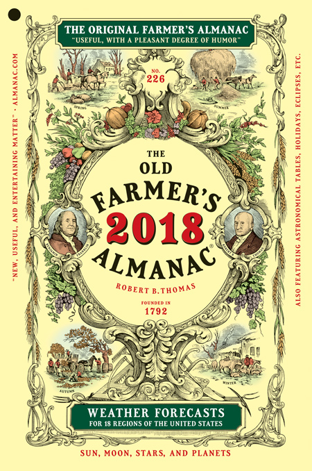 2018 old farmers almanac