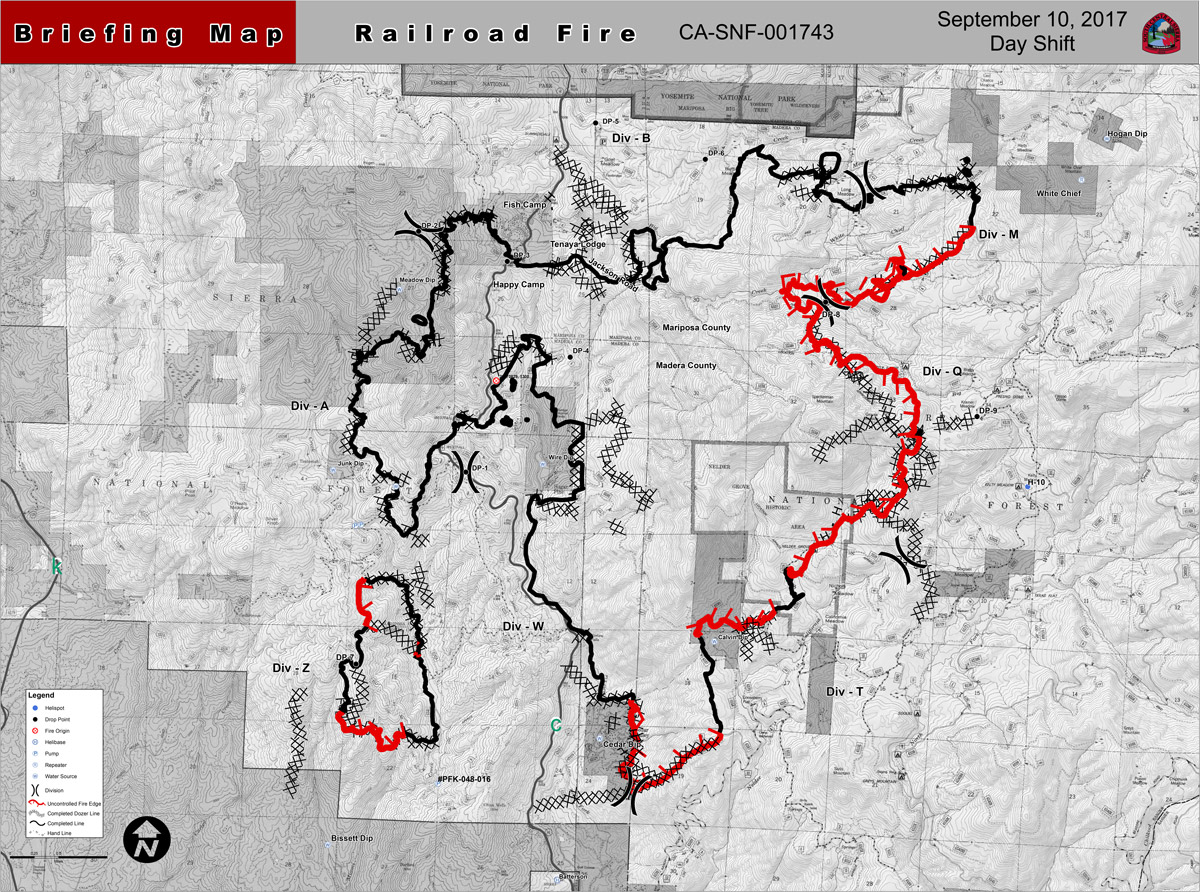 Railroad Fire Now 64 Percent Contained, Highway 41 Reopens Later Today