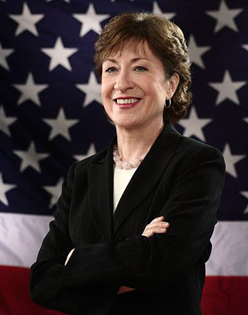 susan collins official photo