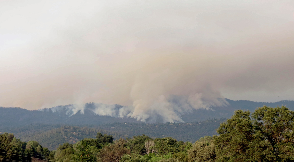 Yosemite National Park Closes Some Areas Due To Nearby Wildfire