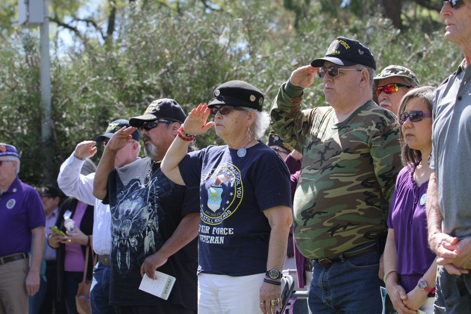 Vietnam War veterans honored in Fresno on a day just for them