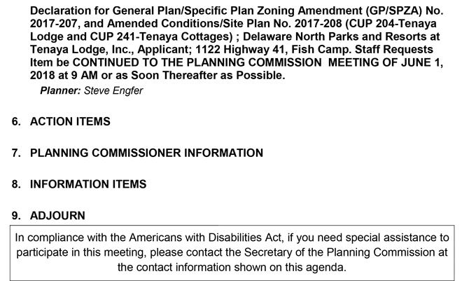 2018 05 18 mariposa county Planning Commission Public Agenda may 18 2018 2