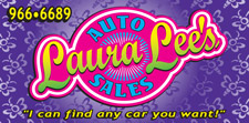 "'Click' For More Info: Laura Lee's Auto Sales in Mariposa… ""I can find any car you want!"""