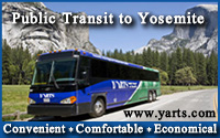 YARTS Public Transit to Yosemite National Park