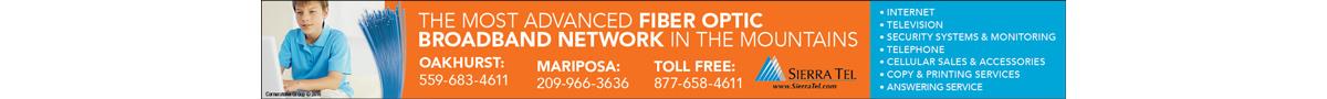 Sierra Tel… the Most Advanced Fiber Optic Broadband Network in the Mountains
