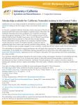 Scholarships Available for California Naturalist Training in the Central Valley
