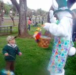 Easter Bunny Invites Everyone to the Coulterville Easter Egg Hunt on April 5, 2015