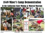 California State Mining & Mineral Museum to Host a 1849 Miner's Camp Demonstration on May 2 & 3, 2015