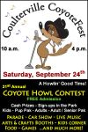 Have a Howlin' Good Time at Coulterville's Annual CoyoteFest on Saturday, September 24, 2016