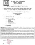 John C. Fremont Healthcare District Board of Directors Special Board Meeting Agenda for October 3, 2016