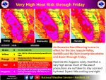 National Weather Service Extends Excessive Heat Warning for Madera County and Mariposa County Through Friday, June 23, 2017