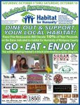 Dine-Out & Support Mariposa Habitat for Humanity on October 3-10, 2015