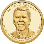 United States Mint Unveils Ronald and Nancy Reagan Coin Designs