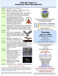 Mariposa County 2016 Hot Topics in Integrated Weed Management Seminar Thursday, July 21, 2016