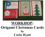 Oakhurst Library Hosts Origami Christmas Card Workshop on October 22, 2016