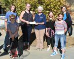 Mariposa-Yosemite Rotary Donates $500 to Sierra Foothill Charter School Students Yosemite Trip
