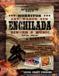 Enjoy the 68th Annual Hornitos Enchilada Dinner on March 4, 2017