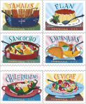 New Postal Service Forever Stamps Celebrate Latin American Cuisine