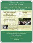 MCHS Grizzly Band Marathon and Mariposa Museum Annual Docent Fair to be Held on April 29, 2017