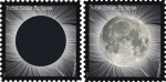 Total Eclipse of the Sun to be Commemorated on a Forever Stamp - One Stamp: Two Images