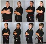 Mariposa Martial Arts Academy Congratulates New Black Belts