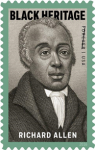 USPS Celebrates Black History Month Issuing a Forever Stamp Honoring Richard Allen, Founder of the African Methodist Episcopal Church