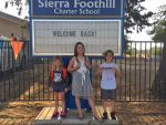 First Day of School Excitement at Sierra Foothill Charter School