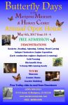 Enjoy Mariposa Museum & History Center's Annual Open House During Butterfly Festival on May 6, 2017