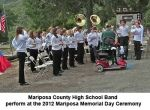 Mariposa Memories - 2012 Mariposa VFW Memorial Day Ceremony (Video)