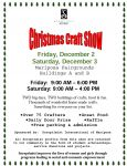 Vendor Space Still Available for Mariposa Soroptimist Christmas Craft Show